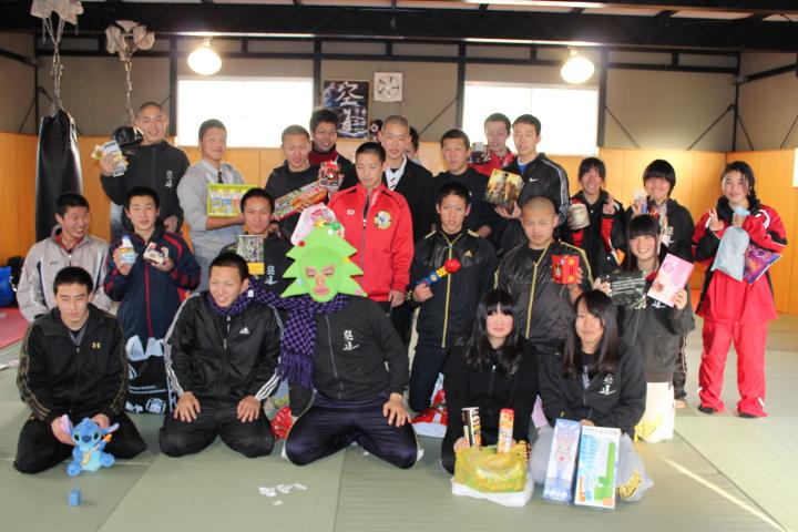 空道部のクリスマス会・稽古納め|豊田大谷高校空道部