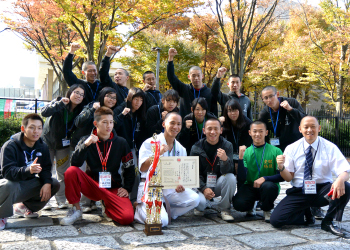 豊田大谷高校空道部みんなで応援にいきました。
