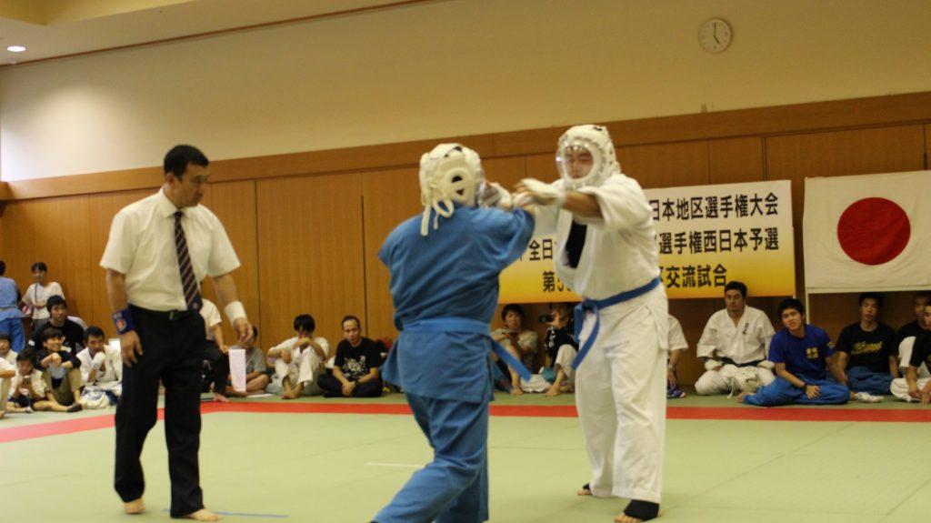 空道の西日本大会の写真